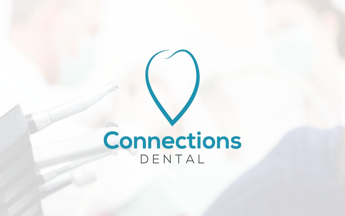 connection_dental - creazione logo per dentista