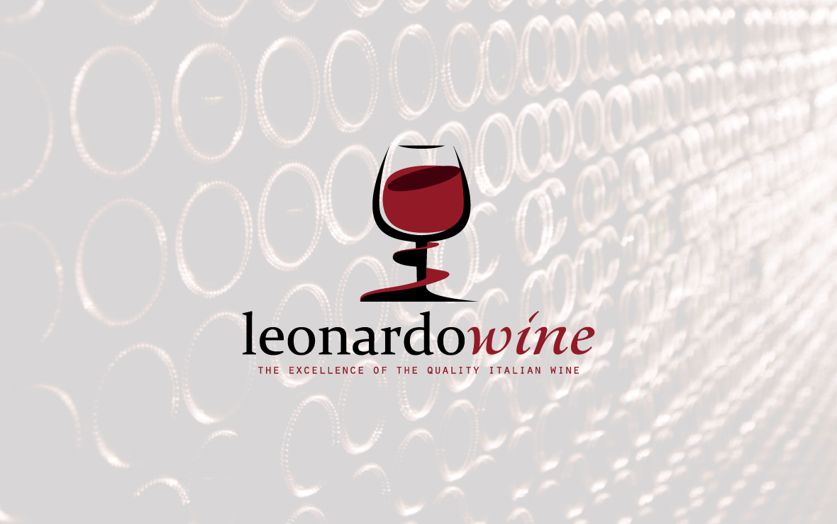 leonardo wine - creazione logo azienda vinicola