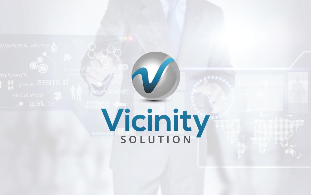 vicinity_solution - creazione logo per informatica