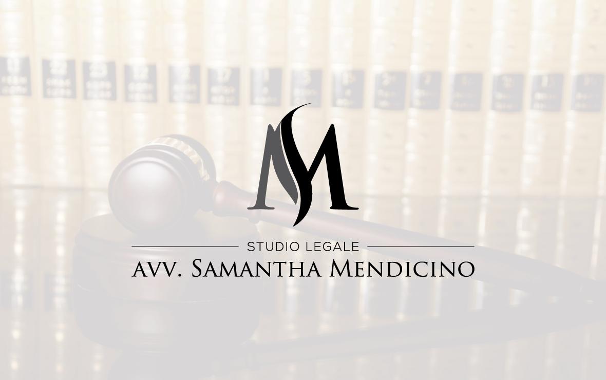 studio mendicino - creazione logo studio legale
