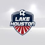 lake houston- creazione logo squadra di calcio