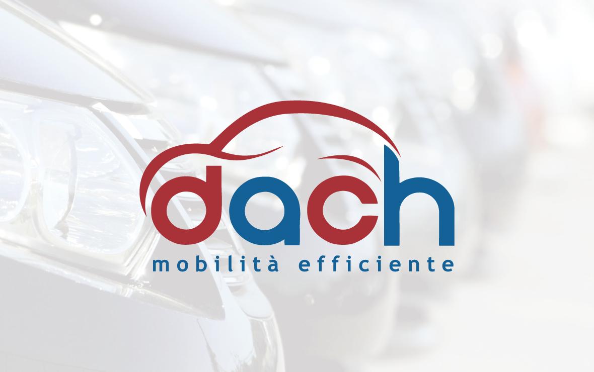 dach - creazione logo per autonoleggio